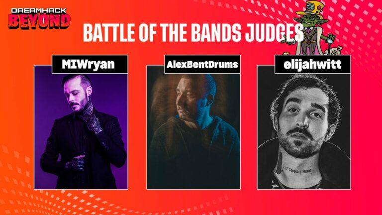 Battle of the Bands Judges
