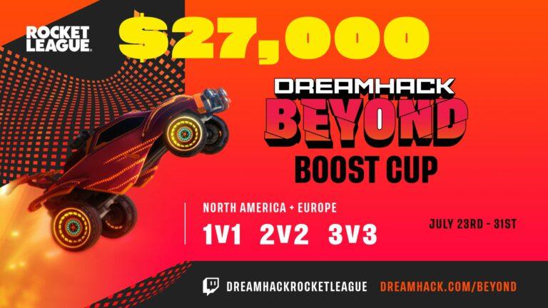 Rocket League Boost Cup