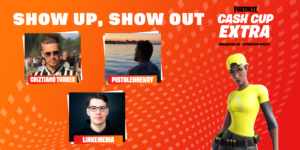 Broadcast lineup for Cash Cup Extra