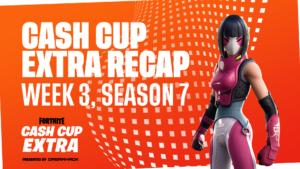 Cash Cup Extra Recap – Week 3, Season 7